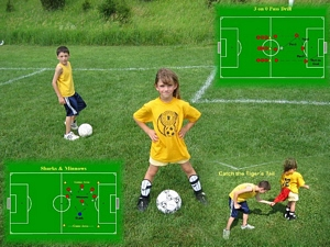 Great Soccer Drills & PreDesigned Soccer Practice Plans at your finger tips